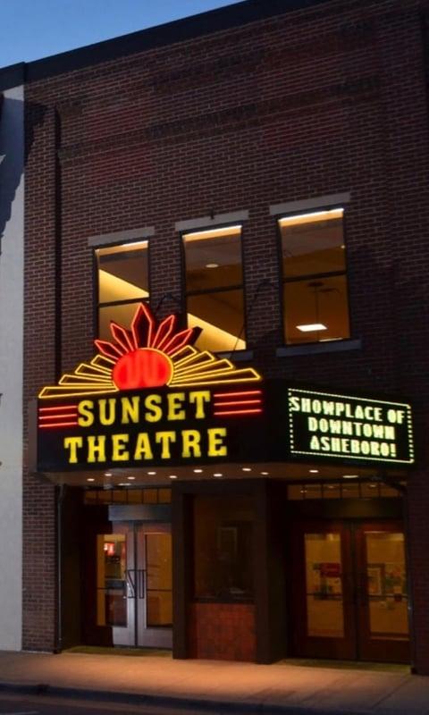 Sunser Theatre Asheboro